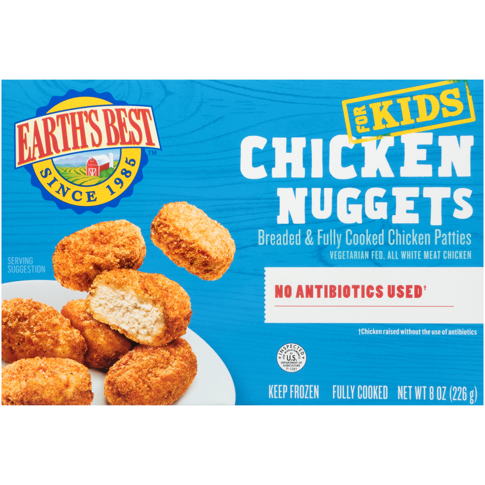 Earth's Best All Natural Chicken Nuggets
