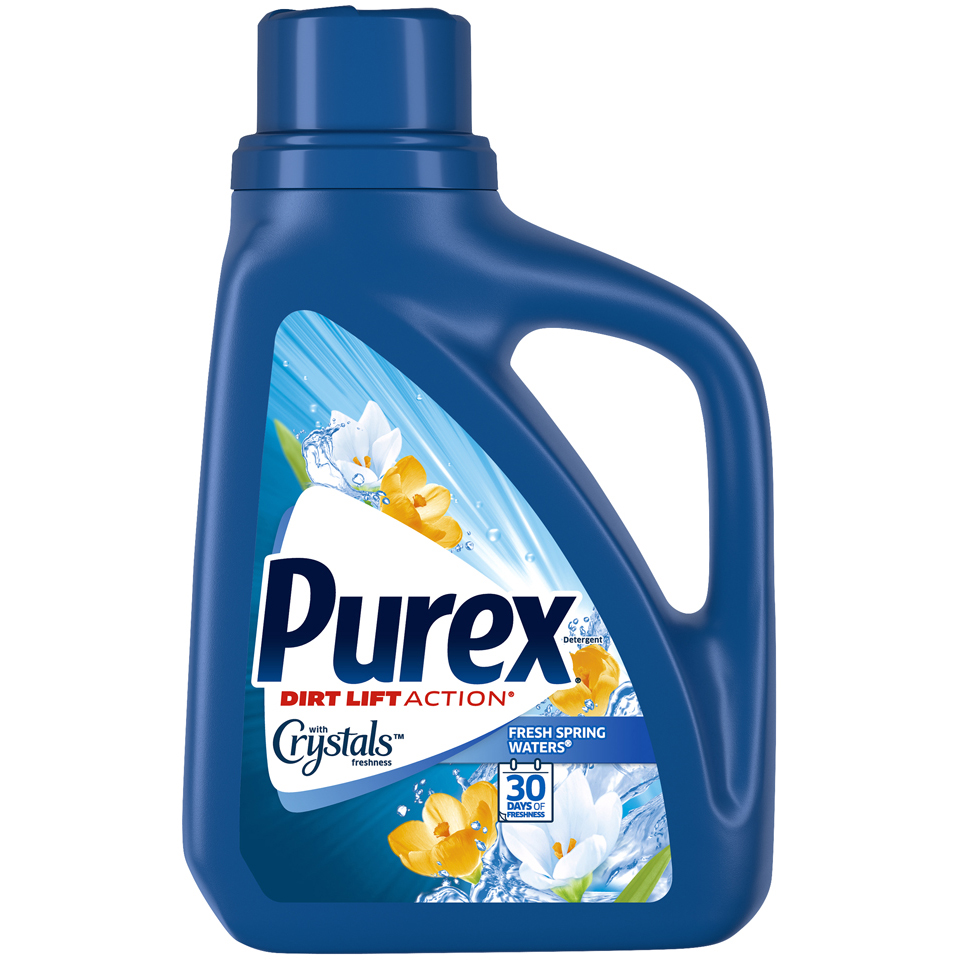 Purex Detergent with Crystals