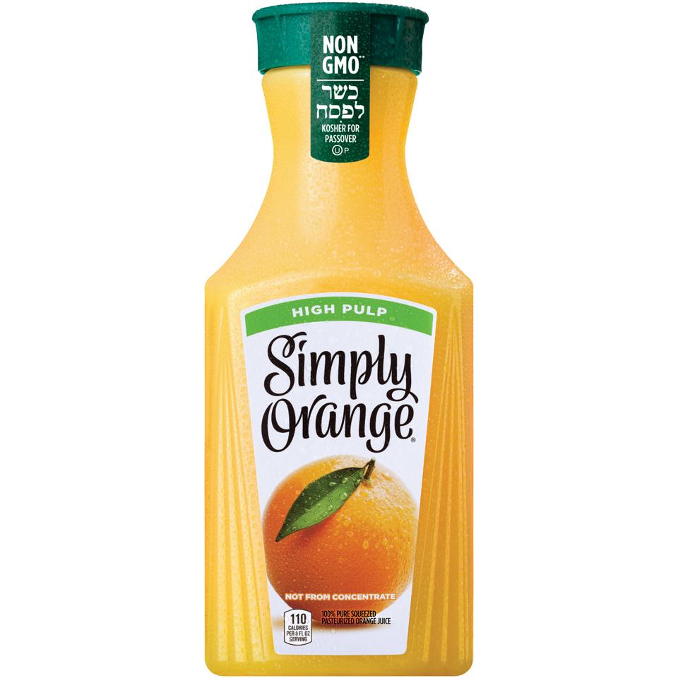Simply Orange Juice High Pulp