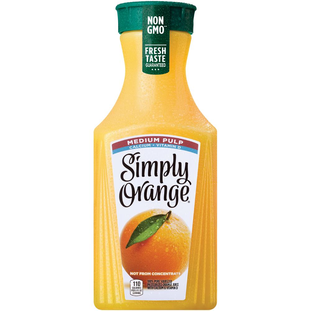 Simply Orange Juice Medium Pulp