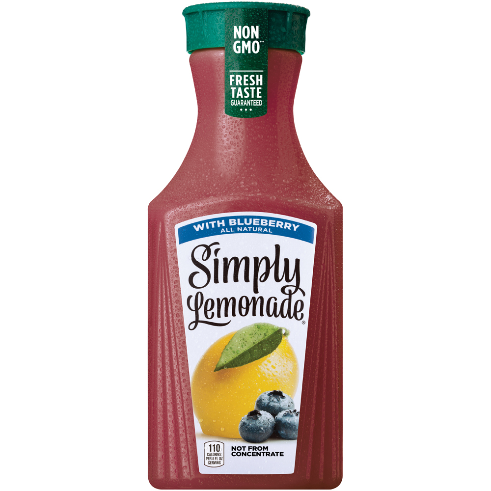 Simply Lemonade with Blueberry