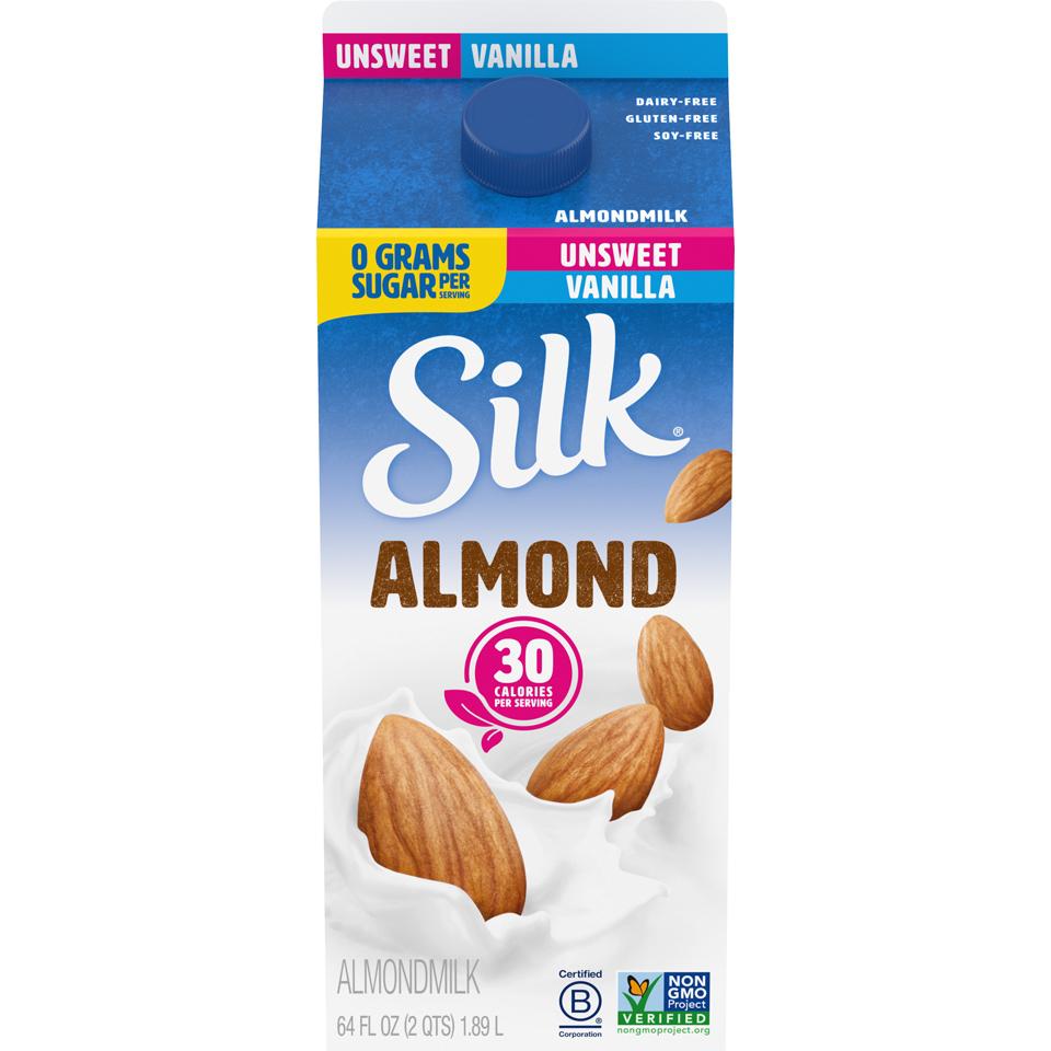 Silk Almond Unsweet Vanilla