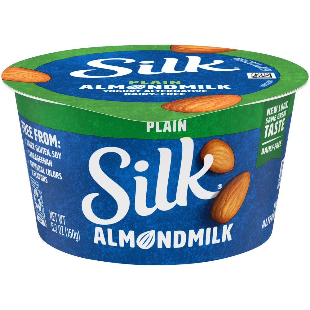 Silk Plain Almond Milk Yogurt