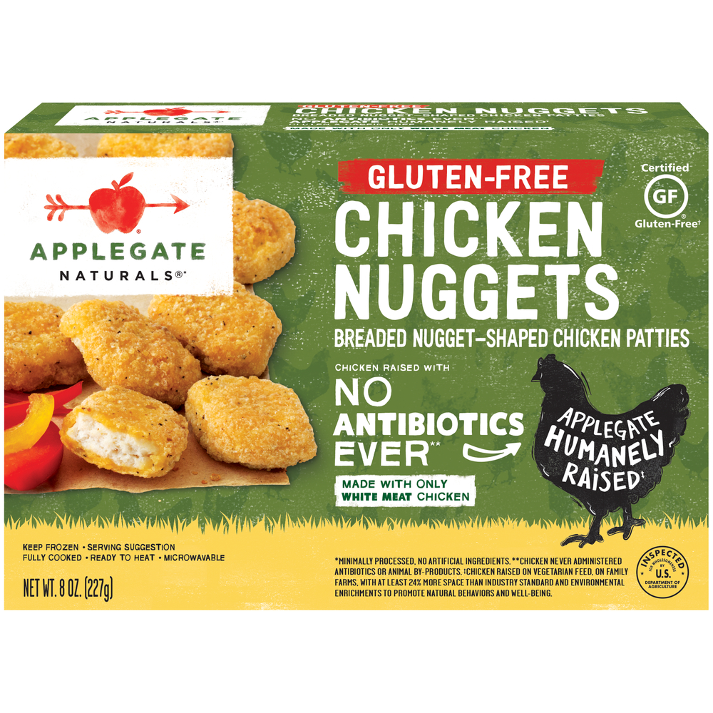 Applegate Naturals Gluten Free Chicken Nuggets