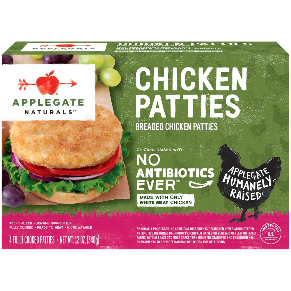 Applegate Naturals Chicken Patties