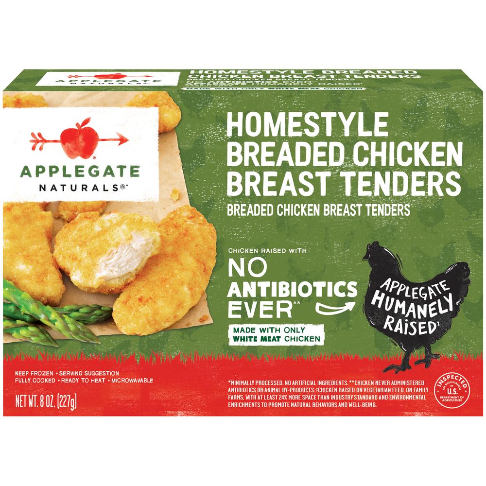Applegate Naturals Homestyle Breaded Chicken Breast Tenders