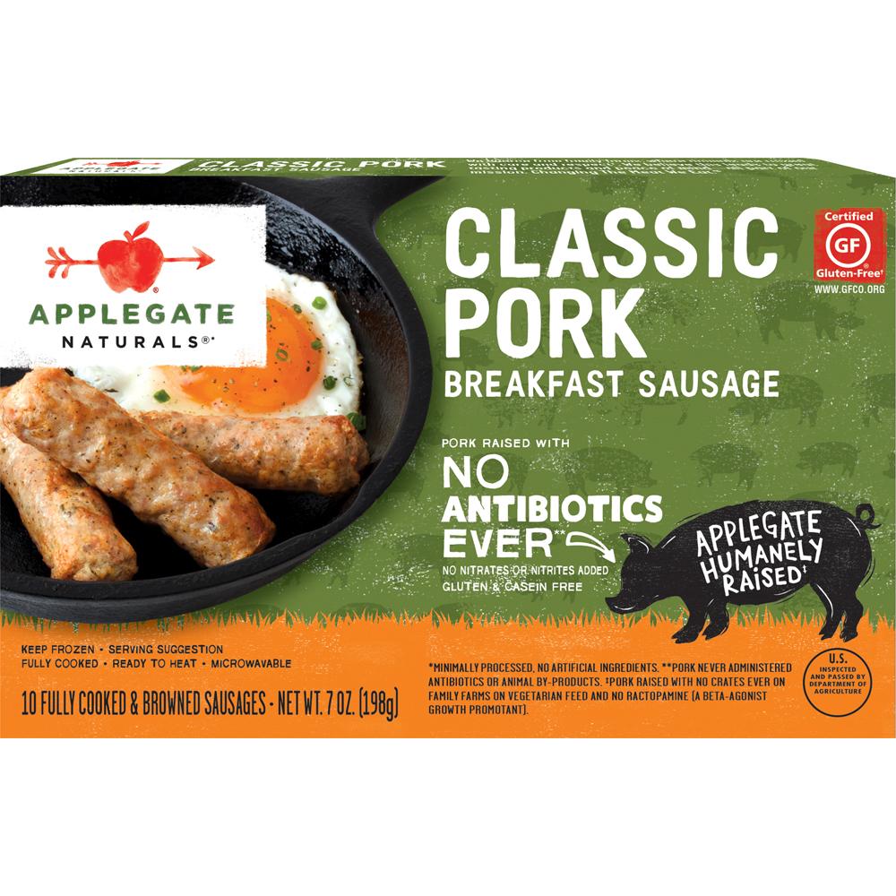Applegate Farms Classic Pork Sausage