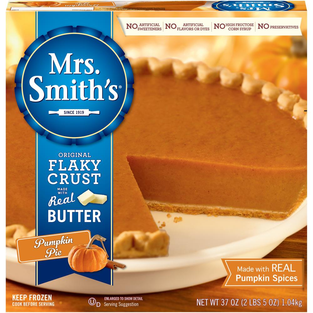 Mrs Smith Pumpkin Pie