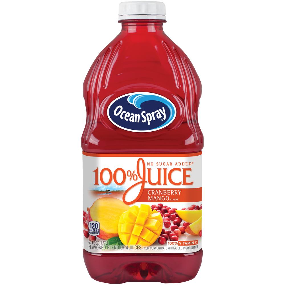 Ocean Spray 100% Cranberry Mango Juice