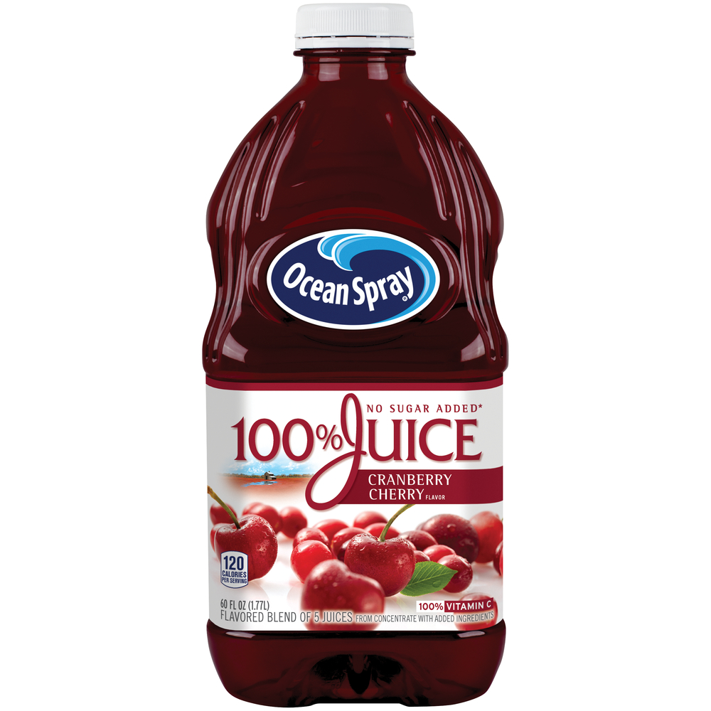 Ocean Spray 100% Cranberry Cherry Juice