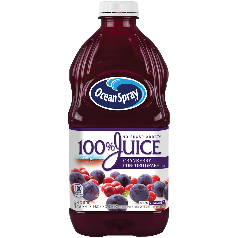 Ocean Spray Cranberry Concord Grape