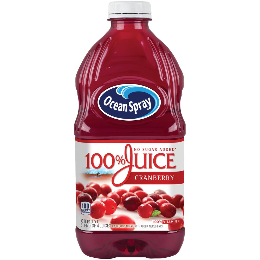 Ocean Spray 100% Ns Cranberry Juice