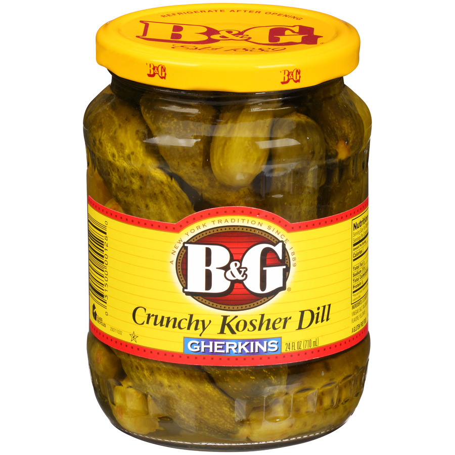 Crunchy Kosher Dill Pickles