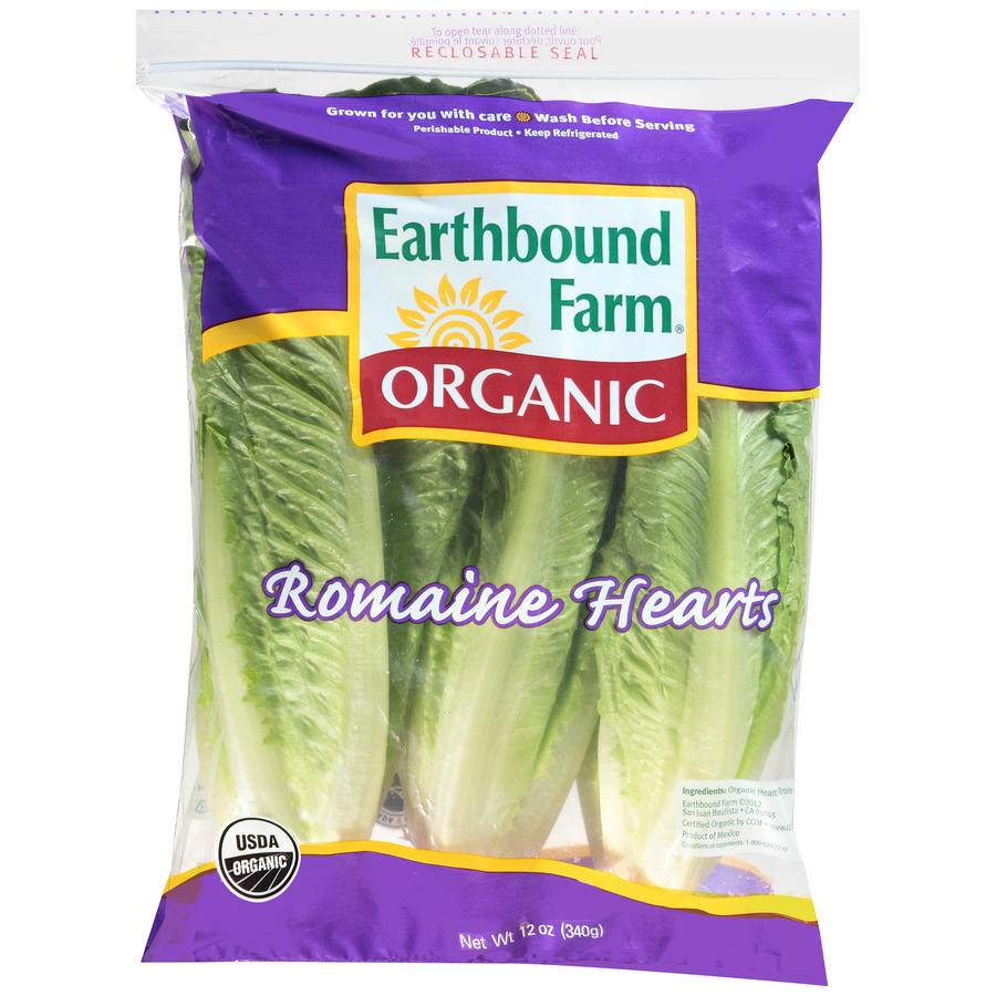 Organic Romaine Hearts