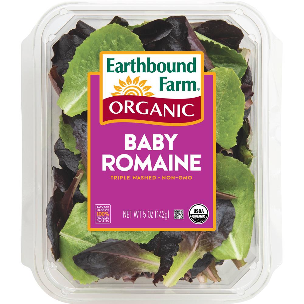 Organic Baby Romaine Salad