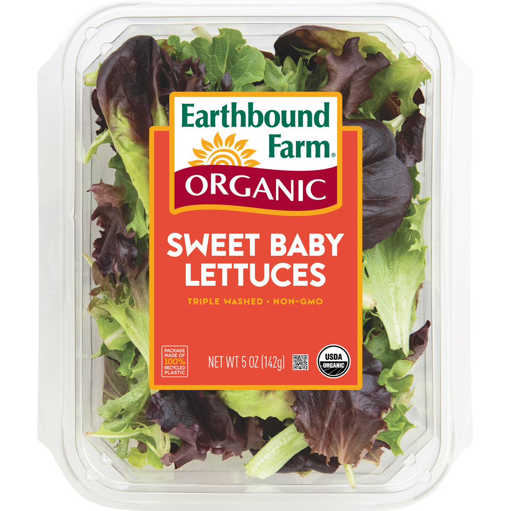 Organic Baby Lettuce