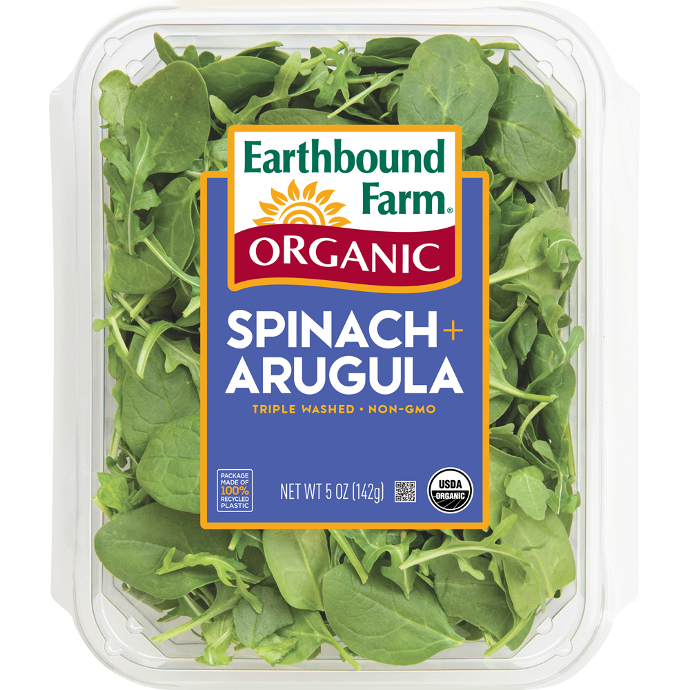 Baby Spinach & Arugala 50/50 Blend