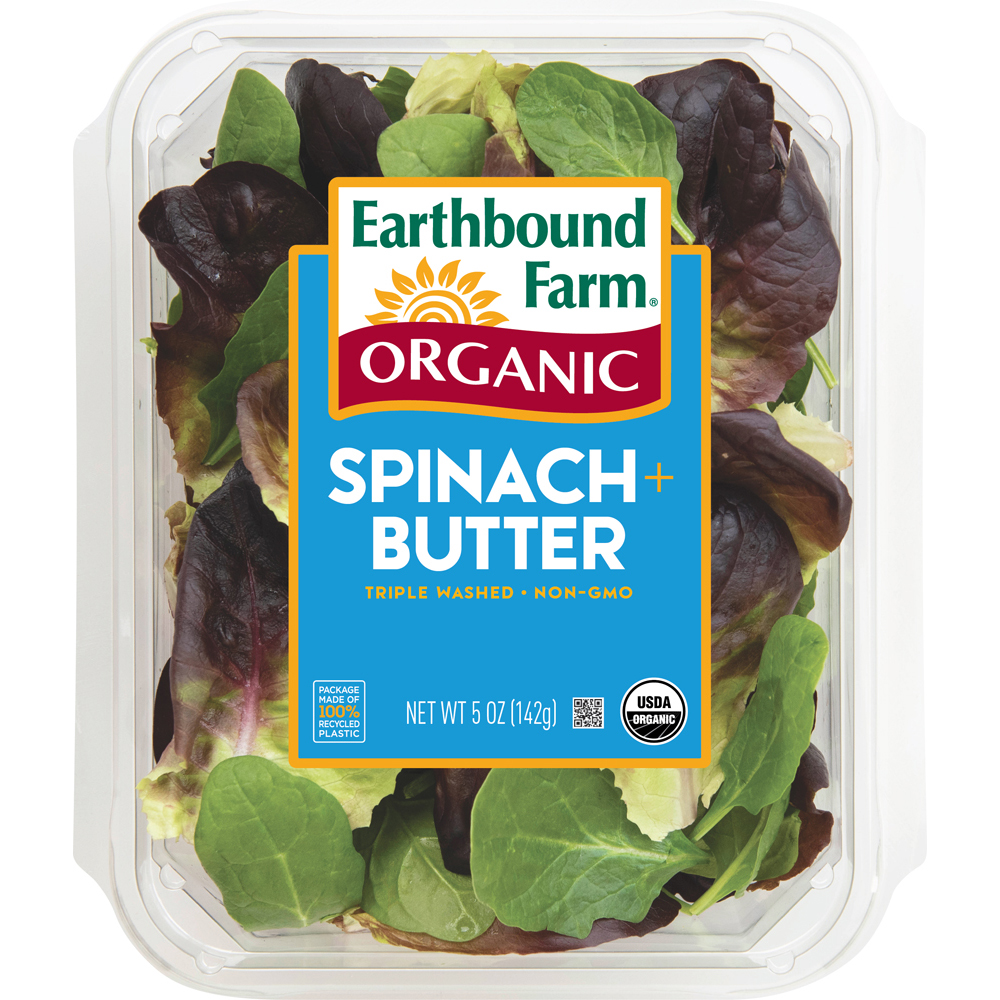 Organic Spinach & Butter Lettuce