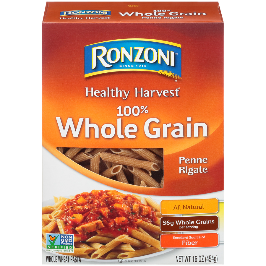 Ronzoni Penne Rigate Whole Grain