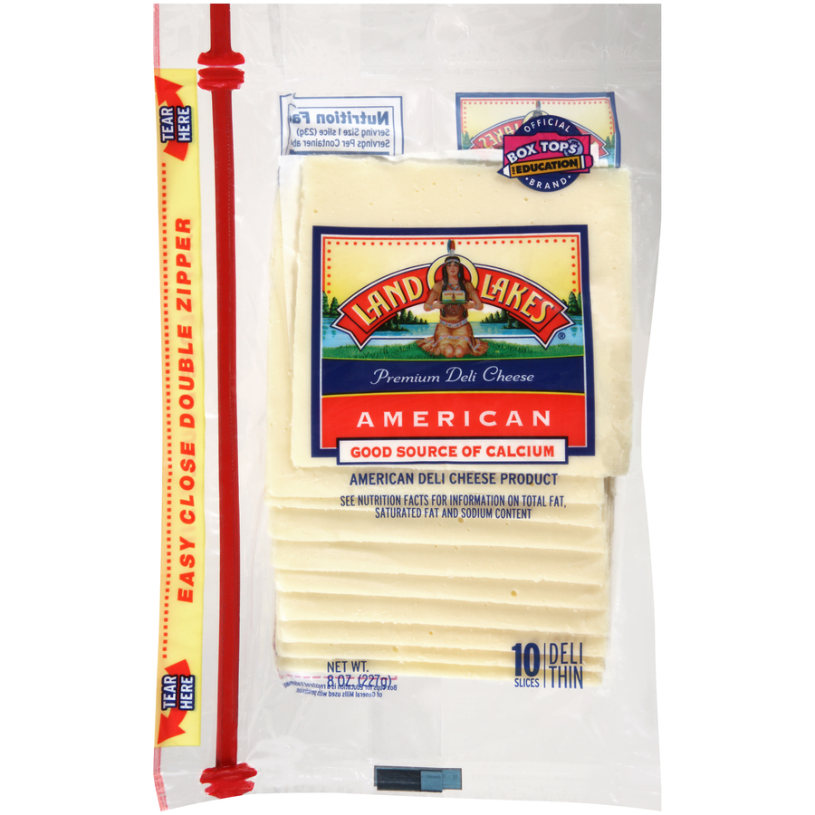 Land O lakes White American Slices