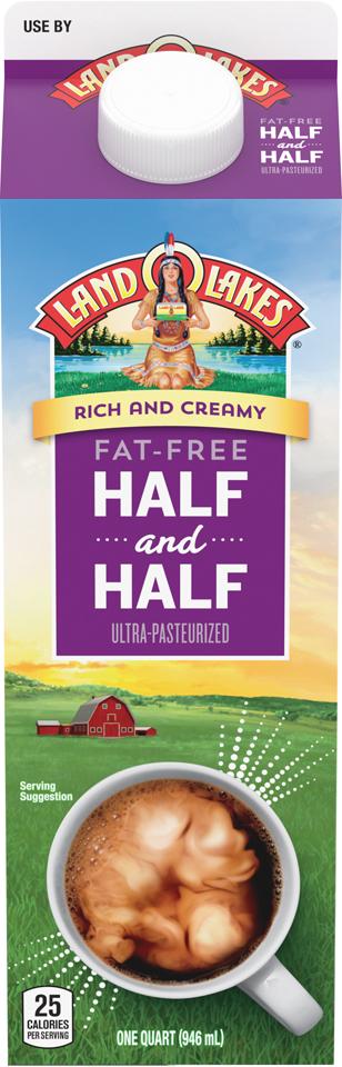 Land O' Lakes Fat Free Half and Half