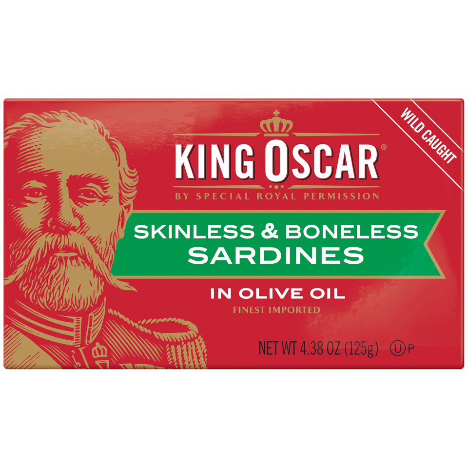 King Oscar Sardines Skinless & Boneless