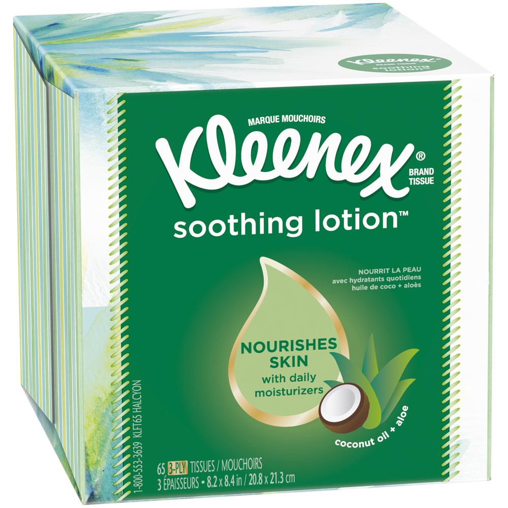 Kleenex Lotion Tissue Cube