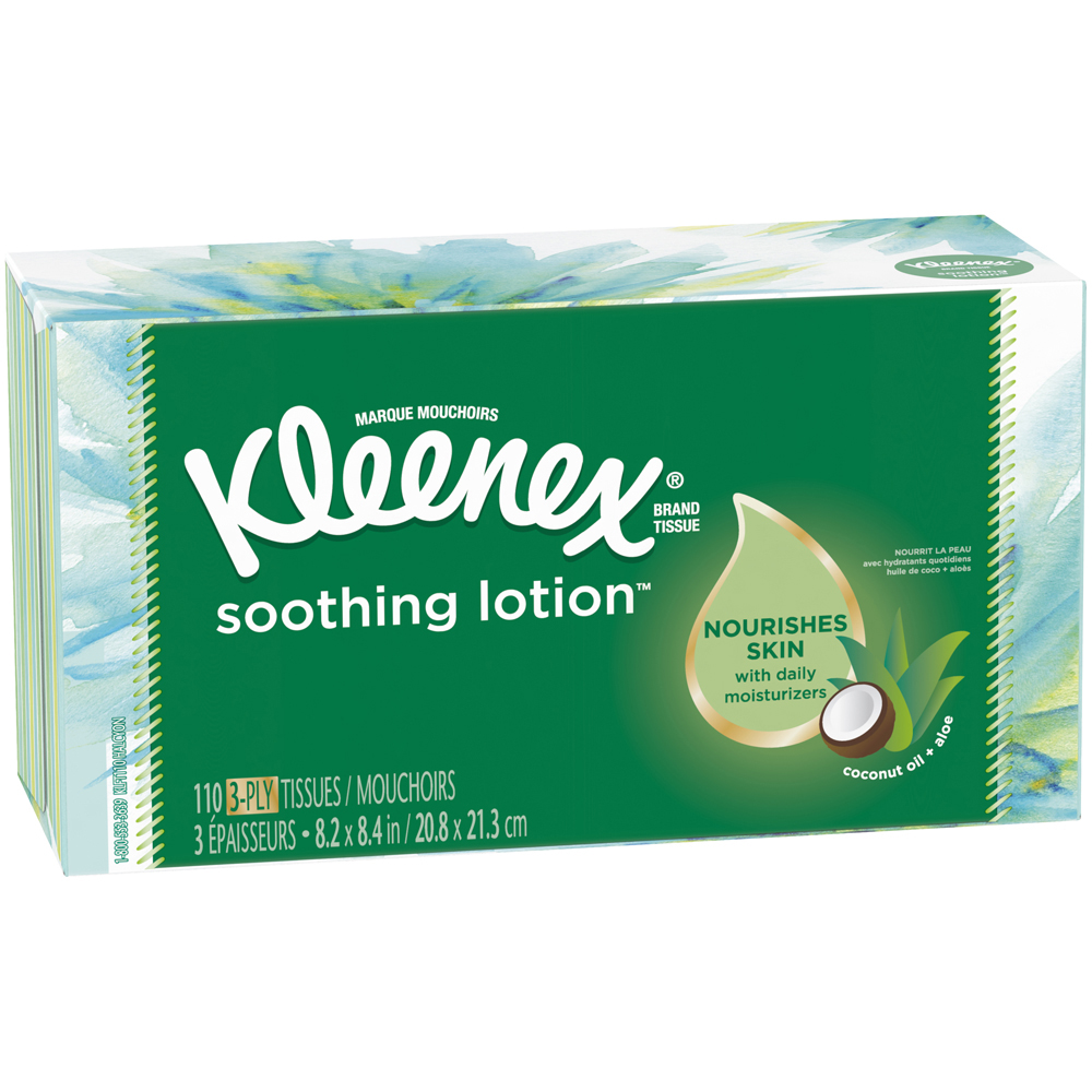 Kleenex Soothing Lotion Tissues 110 ct