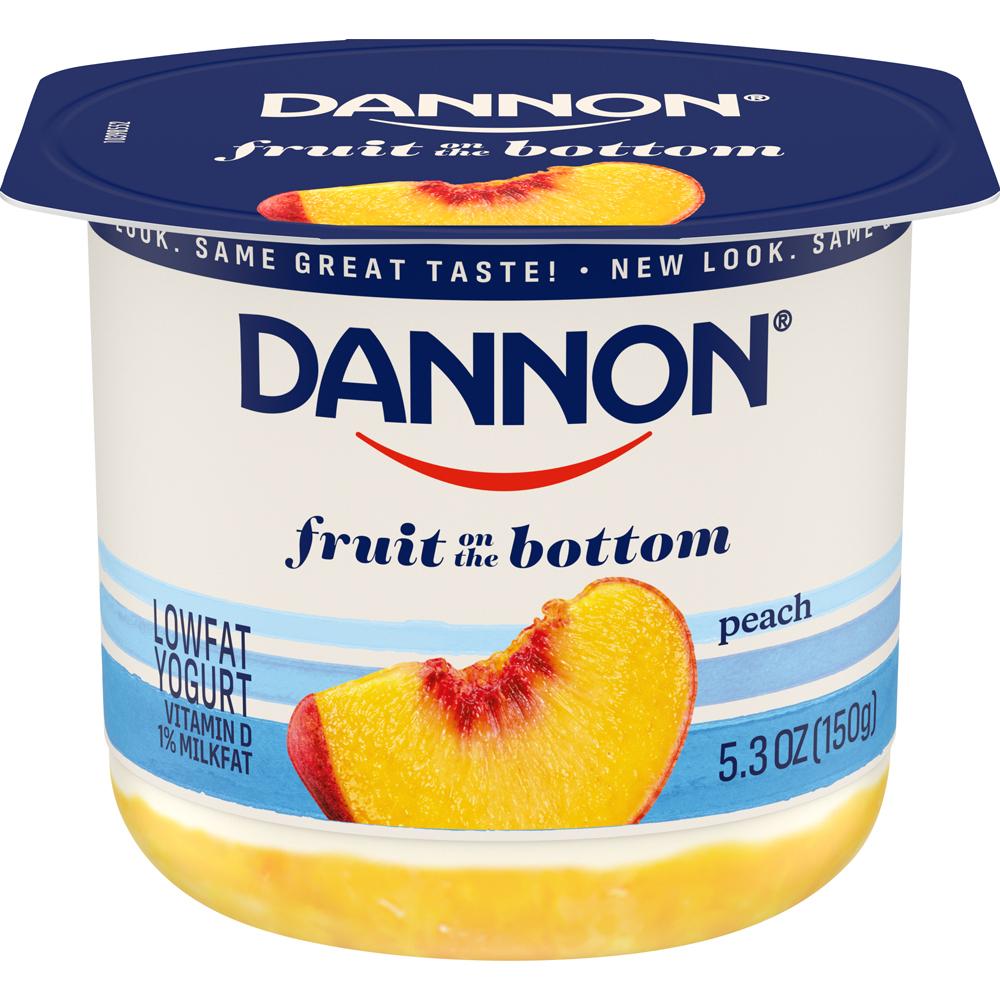 Dannon Fob Peach