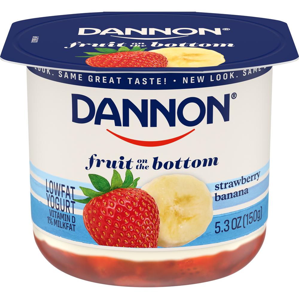 Dannon Fob Strawberry Banana