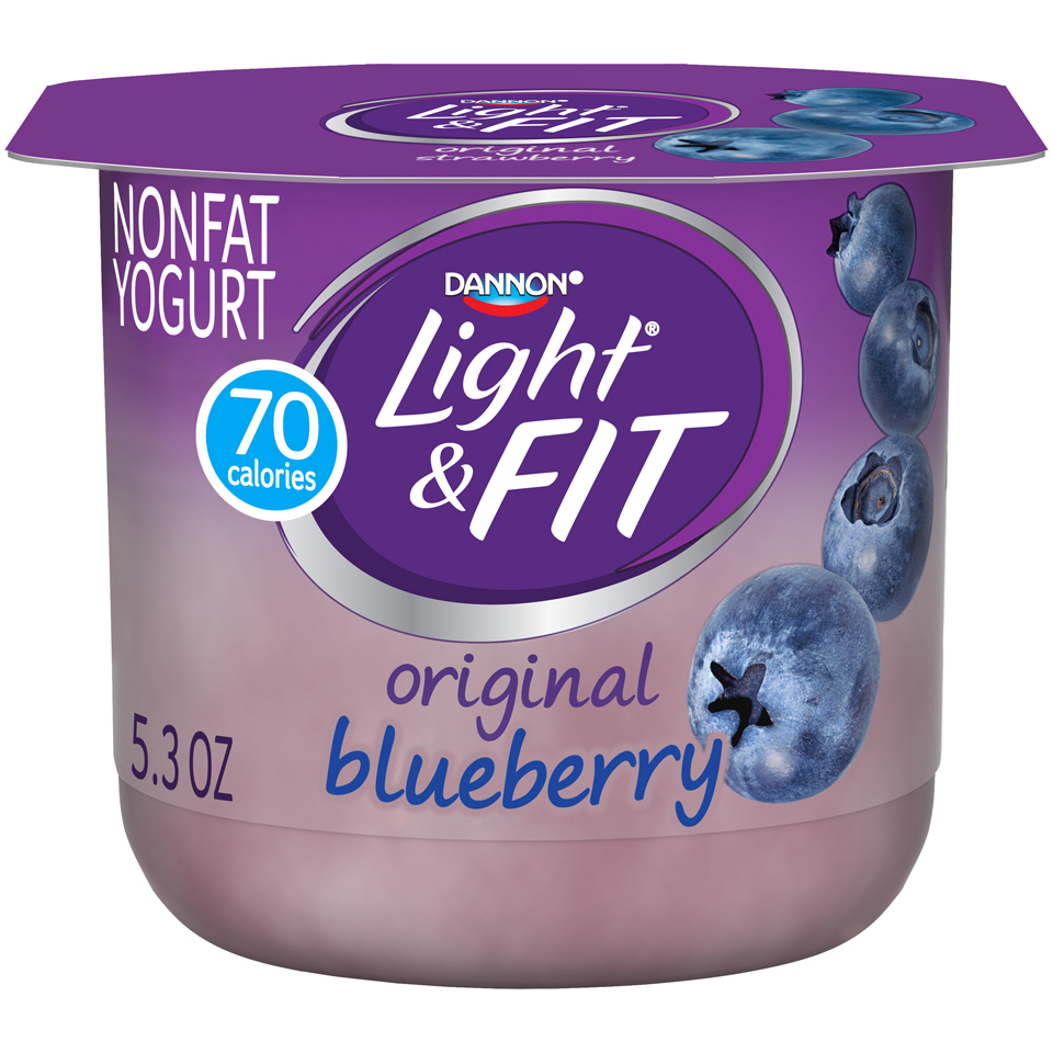 Dannon Light And Fit Blueberry