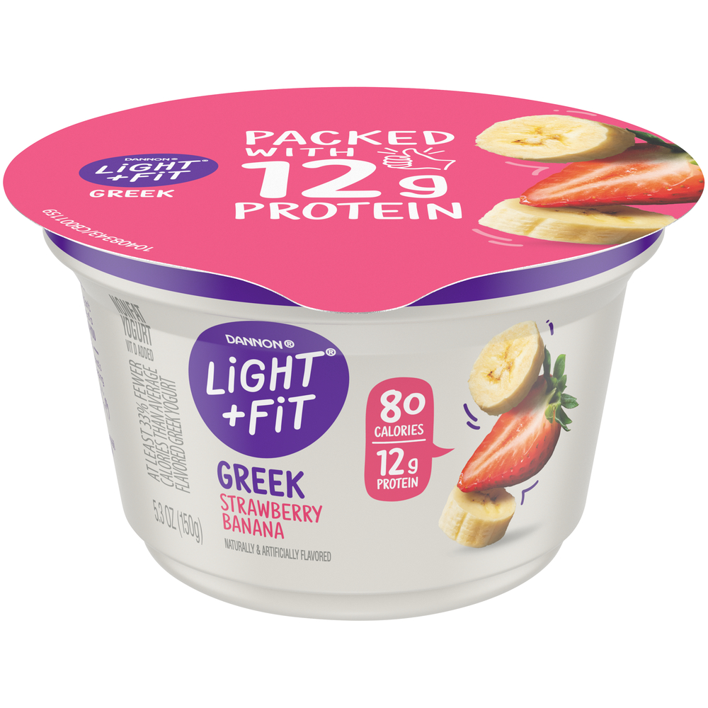 Dannon Light And Fit Strawberry