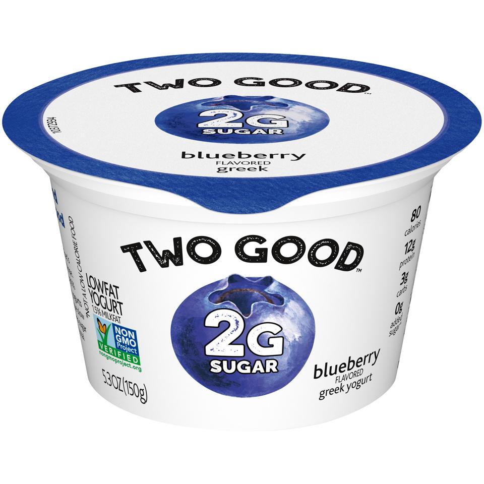Two Good Greek Bluberry Yogurt