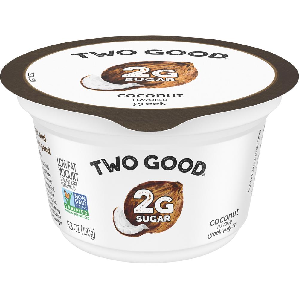 Two Good Greek Yogurt Coconut
