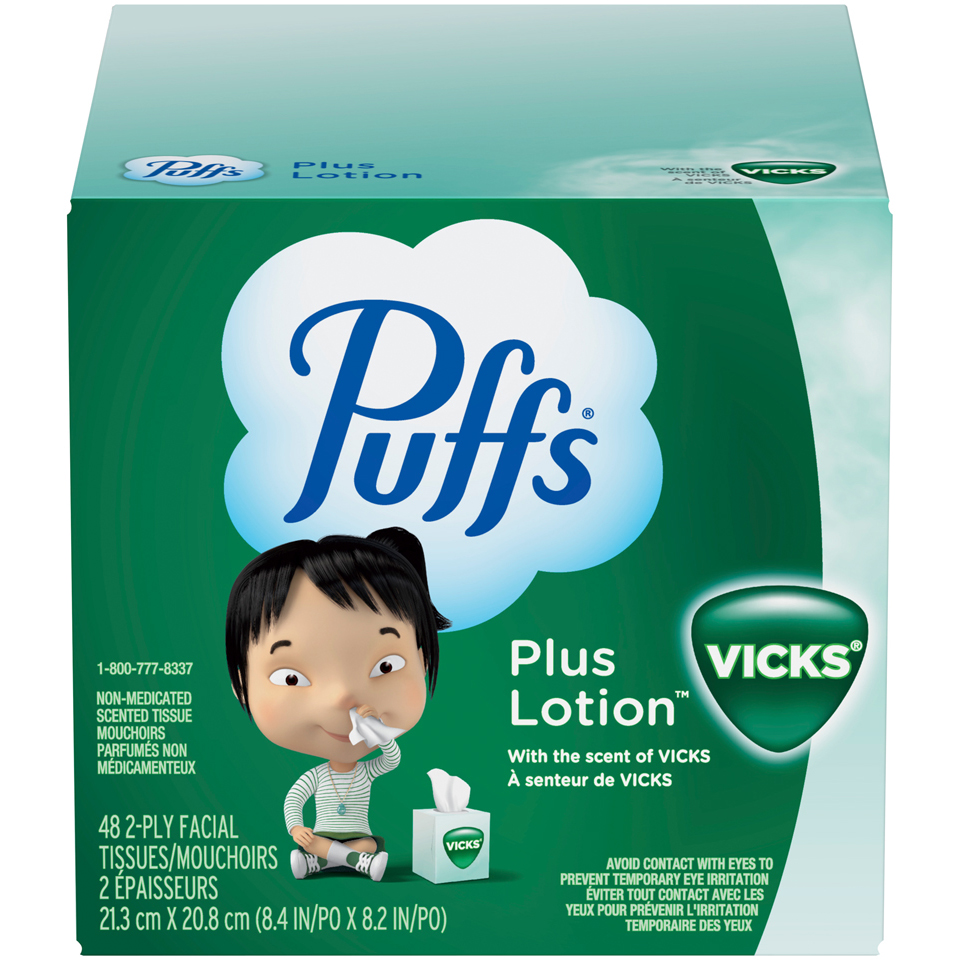 Puffs Tissues with Vicks