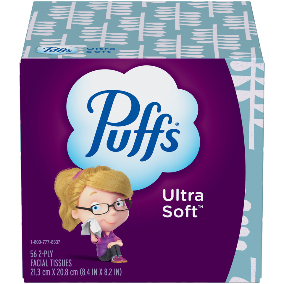 Puffs Ultra Soft And Strong Tissues