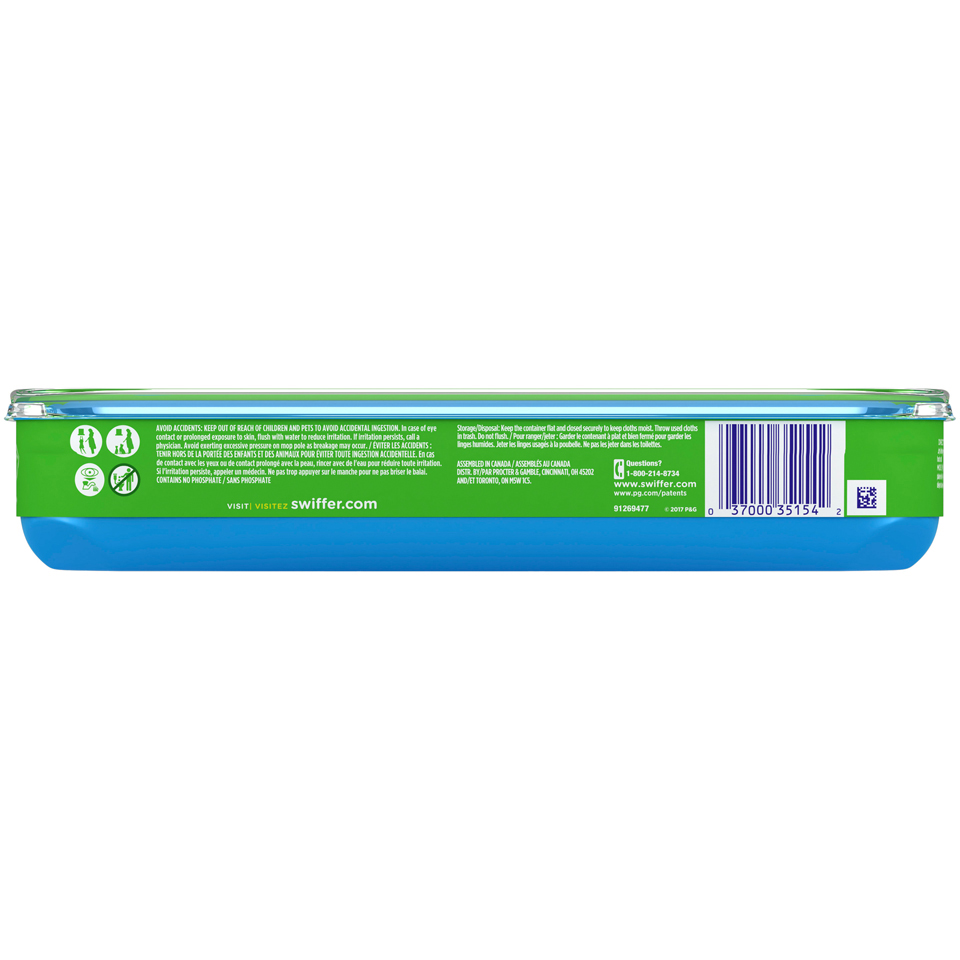 Swiffer Wet Mopping cloths