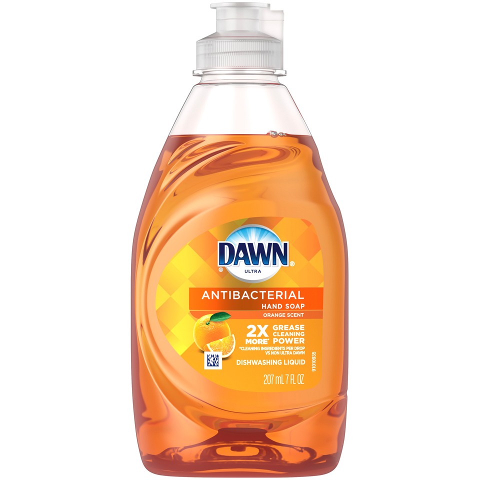 Dawn Orange Dishwashing Liquid