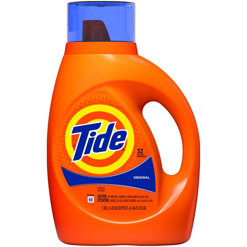 Tide 2X Liquid Org Scent 32Ld