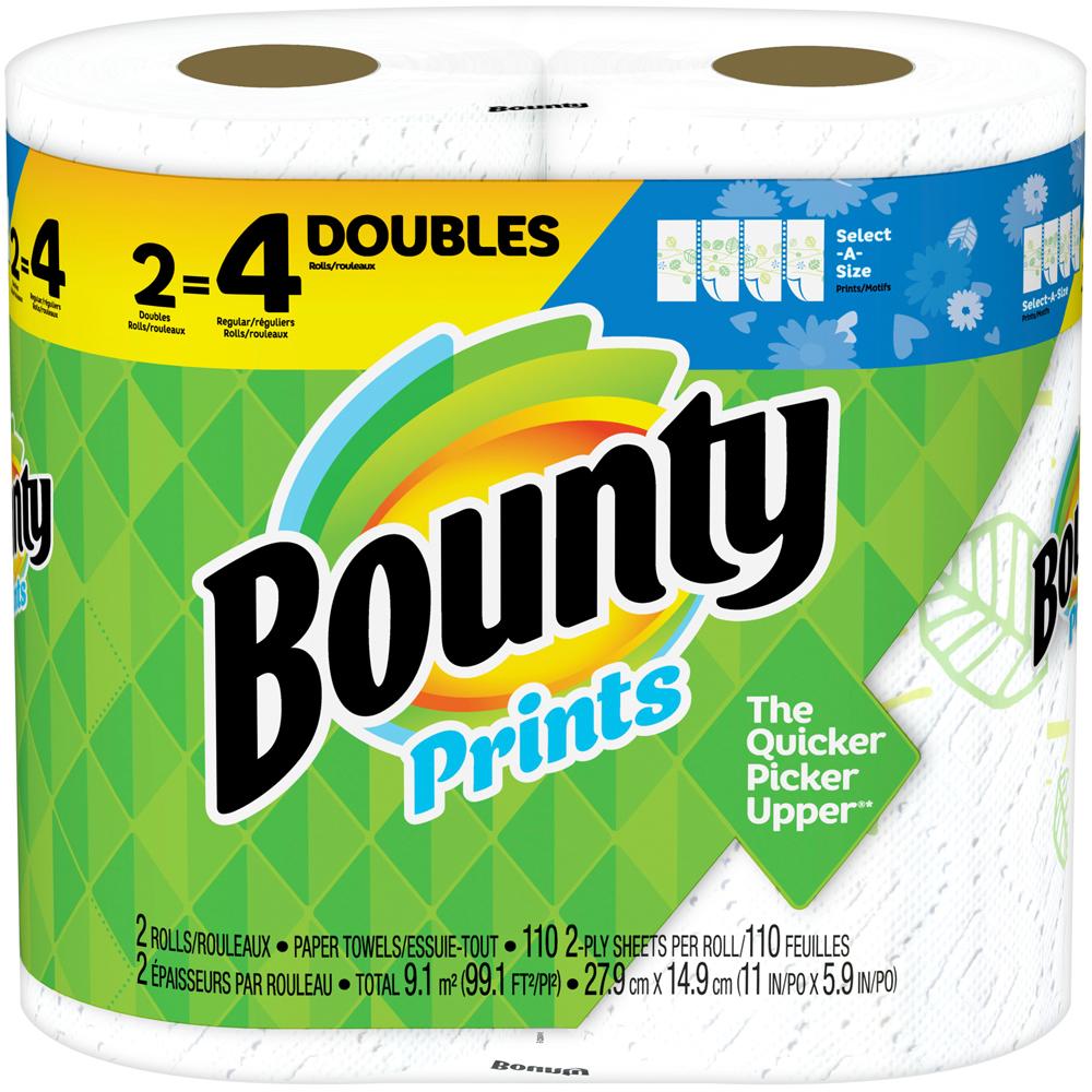 Bounty Big Print Roll 2 pk