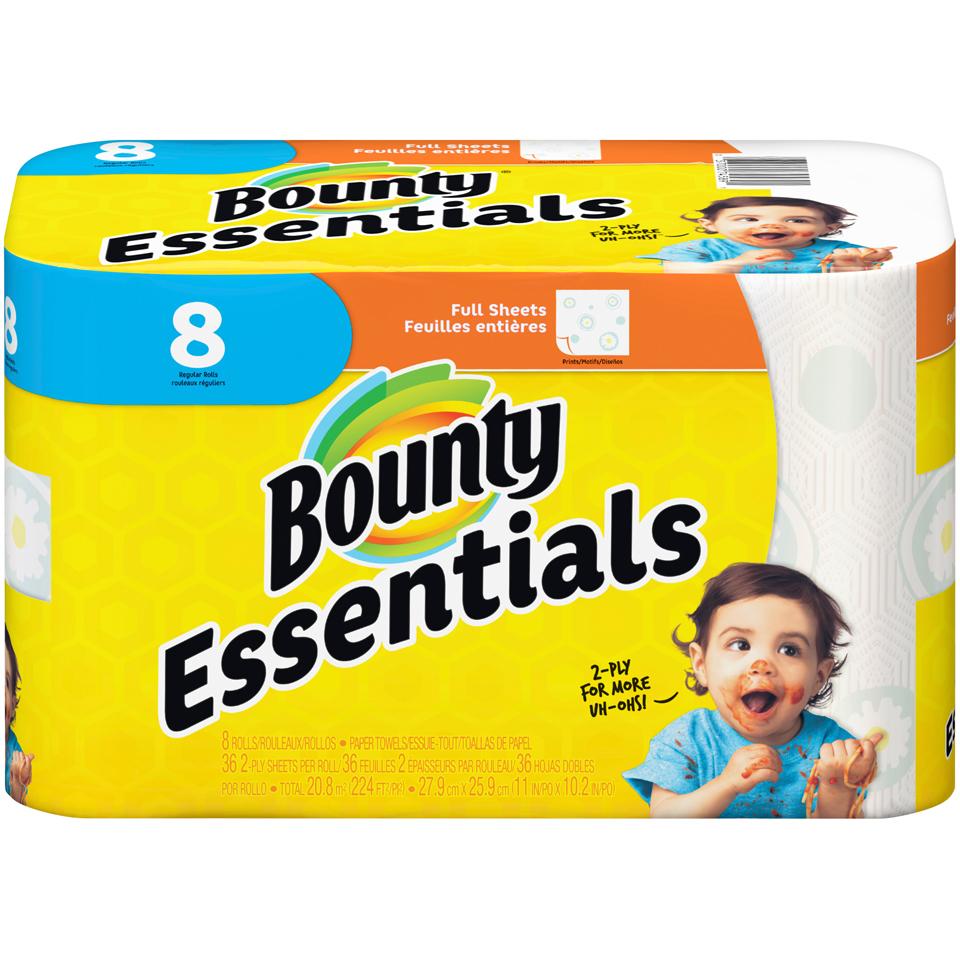 Bounty Essential Paper Towel 8 pk