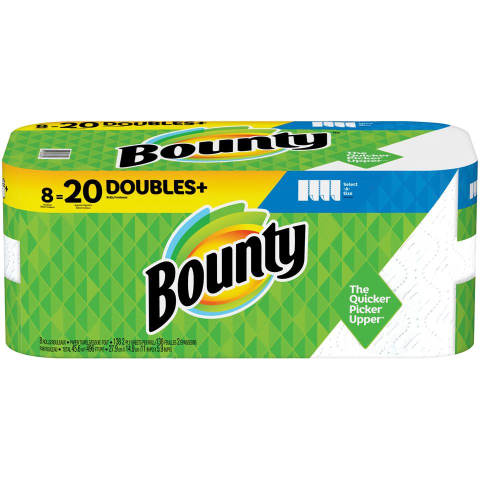 Bounty Paper Towel 8 pk