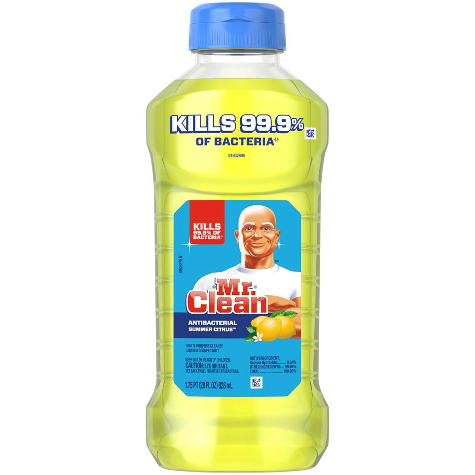 Mr Clean Antibacterial Summer Citrus