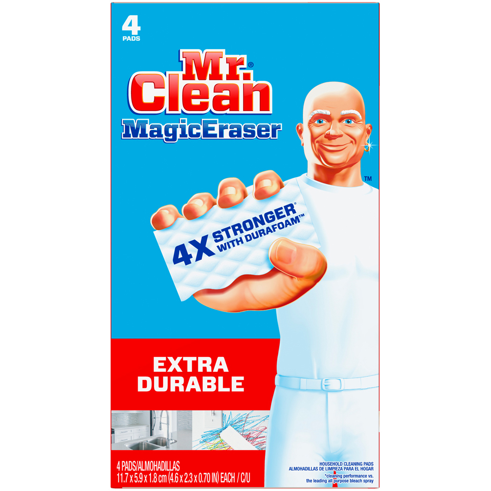 Mr Clean Magic Eraser 4 pk