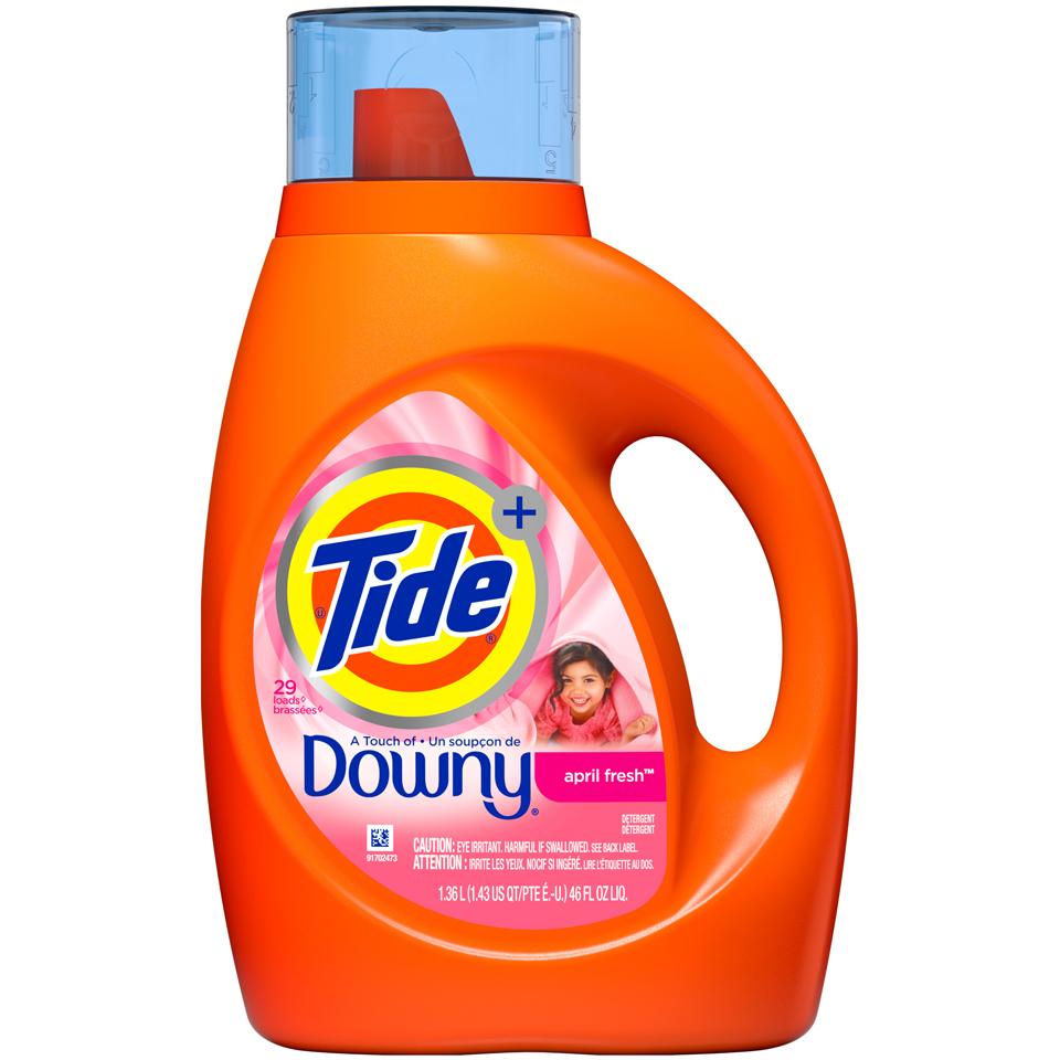 Tide With Downy  Softness