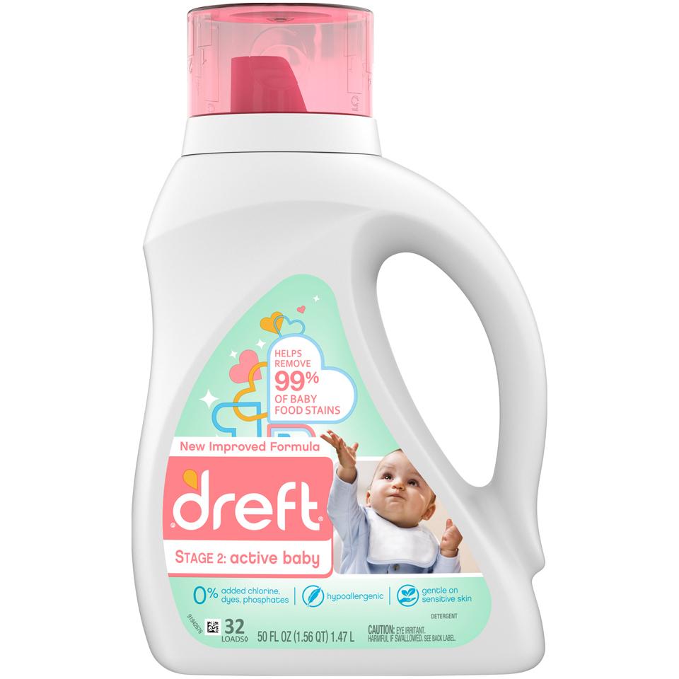 Dreft Laundry Detergent St2