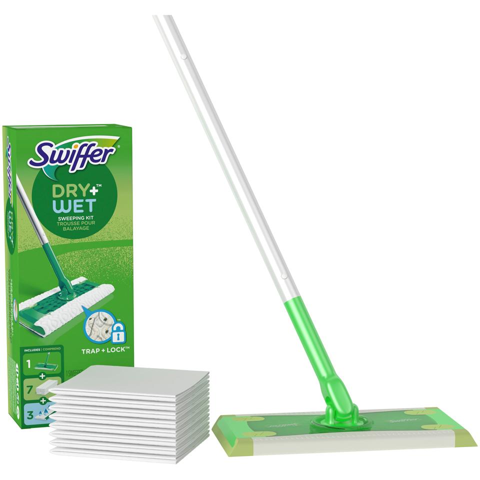 Swiffer Dry+Wet Floor Mop Starter Kit