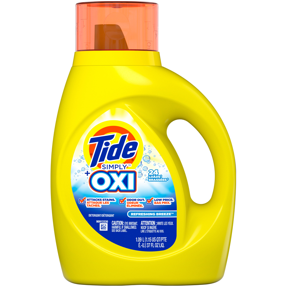 Tide Simply Oxi Refreshing Breeze