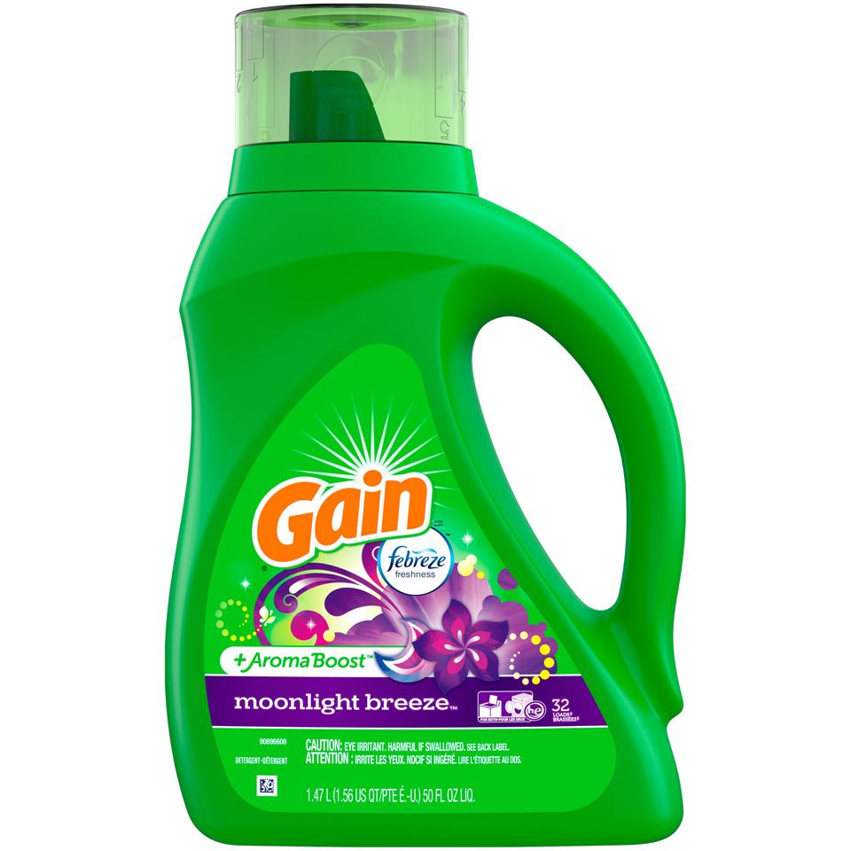 Gain Freze Laundry Detergent