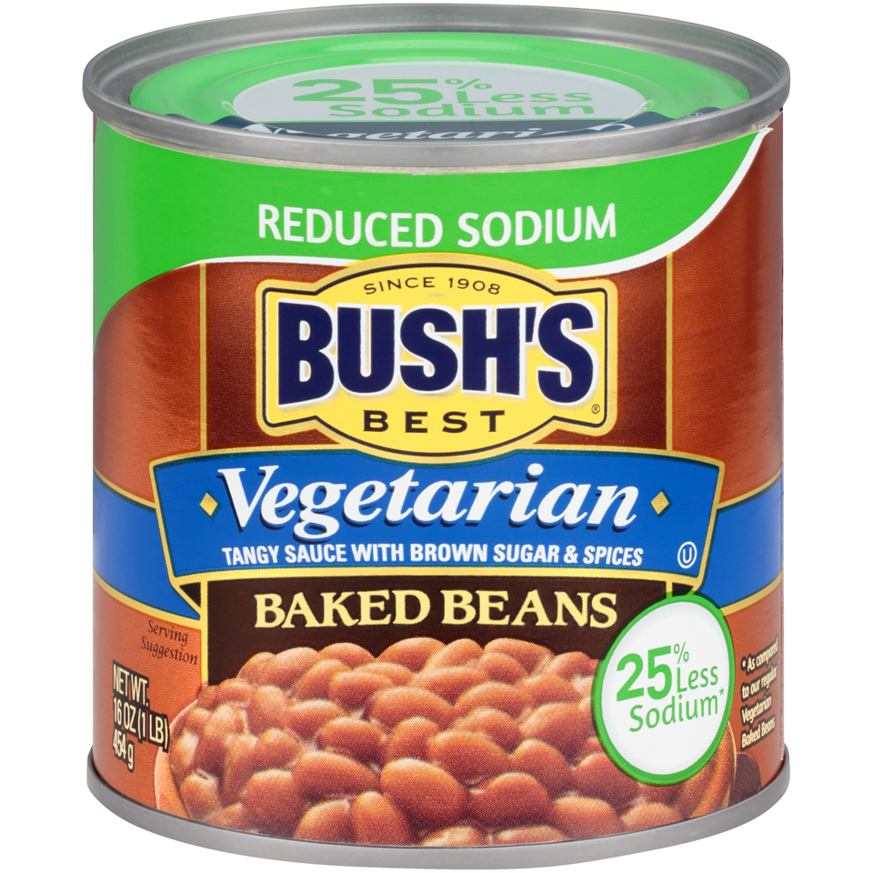 Bush's Best Vegetarian Reduced Sodium Baked Beans